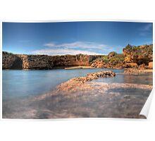 Spiaggia di Punta della mola  Poster