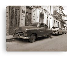 Vintage cars Canvas Print