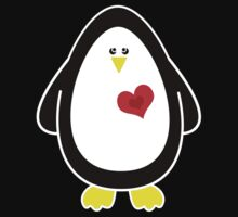Lovable Penguin One Piece - Short Sleeve