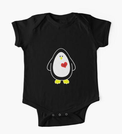 Lovable Penguin One Piece - Short Sleeve