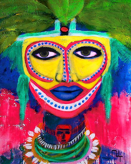 A dream of Africa 1 ( ethnic vision) by Marilyns
