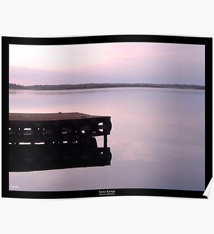 Serenity at sunset Poster