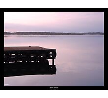 Serenity at sunset Photographic Print