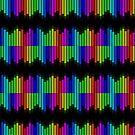 double rainbow equalizer by Fran E.