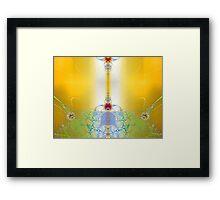 'Living in the Light' Framed Print