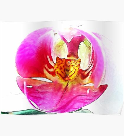 ~ Whimsy Orchid ~ Poster