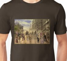 Victorian Picadilly Street Unisex T-Shirt