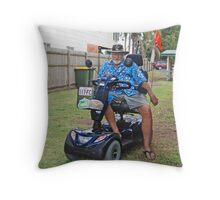 My latest means of transport Throw Pillow