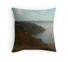 Puget Sound and Seattle from Discovery Park Throw Pillow