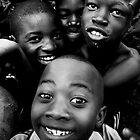 Zambian kids by Vincent Riedweg