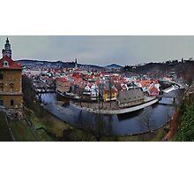 Cesky Krumlov panorama Photographic Print
