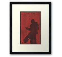 Gears of War Gaming Poster Framed Print