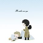 I'll watch over you by Nile-kun