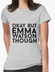 Emma Watson Womens Fitted T-Shirt