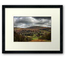 Lake District View Framed Print