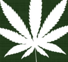 Marijuana Leaf South Dakota Sticker