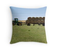 Rural Summer Throw Pillow