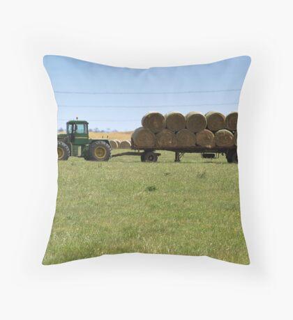Rural Summer Throw Pillow
