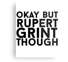 Rupert Grint Metal Print