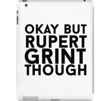 Rupert Grint iPad Case/Skin
