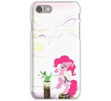 Karate Pie with BG iPhone Case/Skin