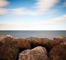 Rock, Water, Sky by PaulBradley
