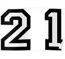 Twenty One Poster