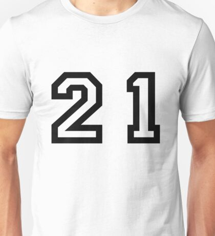 Twenty One Unisex T-Shirt