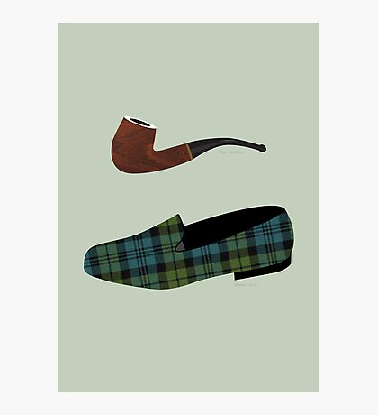 Pipe and Slippers Photographic Print