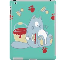 Jolly painting cat iPad Case/Skin