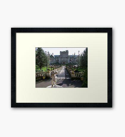 Hatley Castle, North Side Framed Print