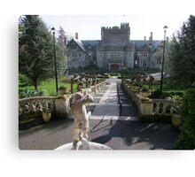 Hatley Castle, North Side Canvas Print