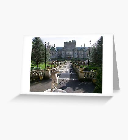 Hatley Castle, North Side Greeting Card