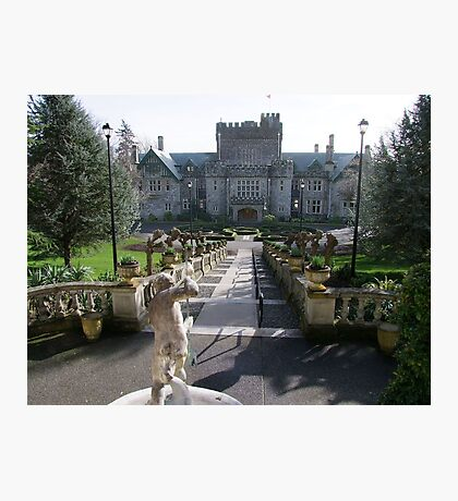 Hatley Castle, North Side Photographic Print