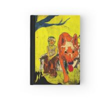 boy och dog Hardcover Journal