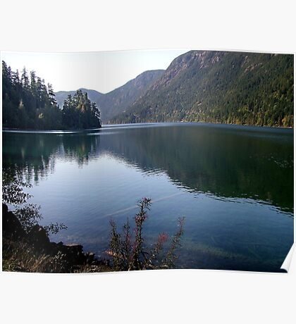Cameron Lake,Vancouver Island Poster