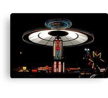 YOYO  Lights Up Cascade Carnivals Midway    Canvas Print