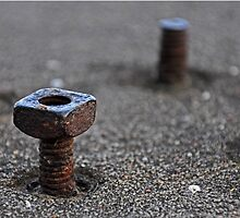 Rusty Bolts - Baker Hotel Mineral Wells Texas by jphall