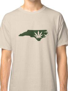 Marijuana Leaf North Carolina Classic T-Shirt