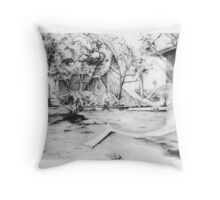 Contact Type Three Throw Pillow