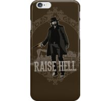 Raise Hell on Union Pacific iPhone Case/Skin