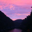 Sunset at Cataract Gorge-ous by Michael Matthews