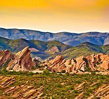 Vasquez Rocks, CA by LudaNayvelt