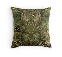 fractal passions Throw Pillow