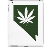 Marijuana Leaf Nevada iPad Case/Skin