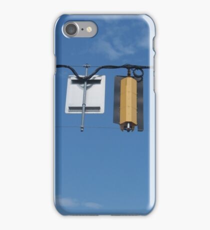 Stop Light from Behind iPhone Case/Skin