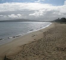 Dromana Beach After Autumn Rain by GemmaWiseman