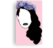 Lana Del Rey - Simplistic - Lips Canvas Print