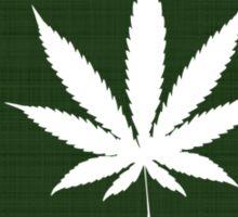 Marijuana Leaf Montana Sticker