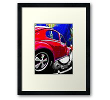 Patina Beetle Framed Print